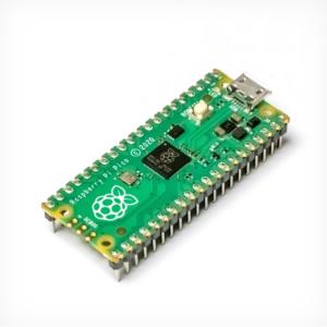 Raspberry Pi Pico sa zalemljenim konektorima