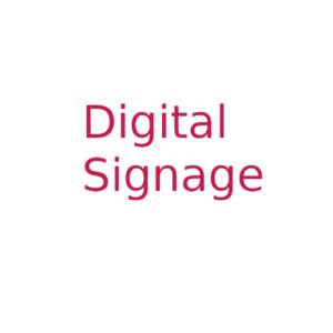 Digital Signage komplet